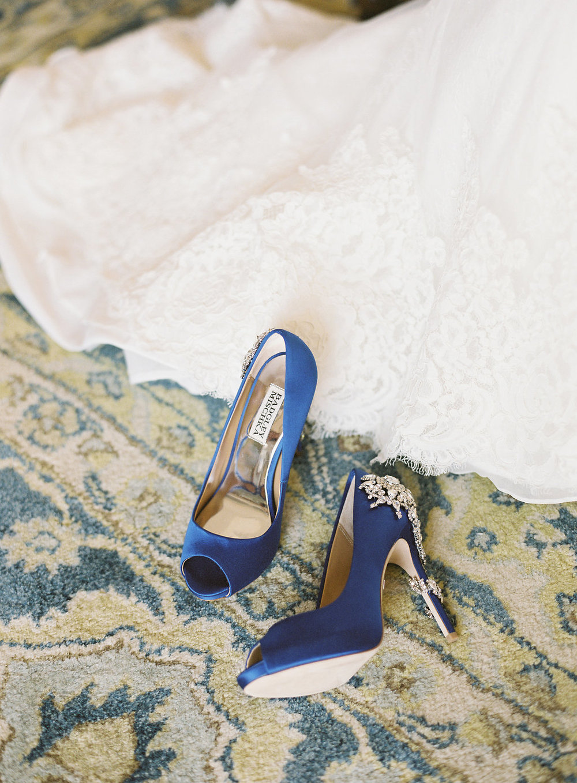 www.santabarbarawedding.com | Rani Hoover | Linda Chaja Photography | Bacara Resort | Bride's Shoes