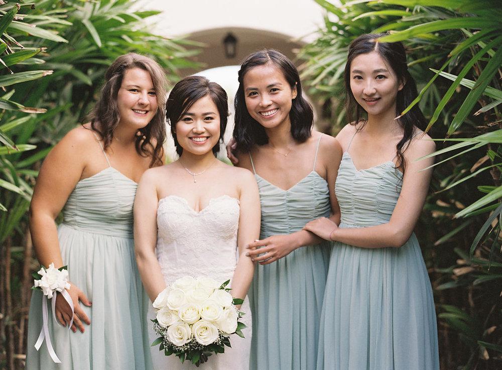 www.santabarbarawedding.com | Rani Hoover | Linda Chaja Photography | Bacara Resort | Bridesmaids