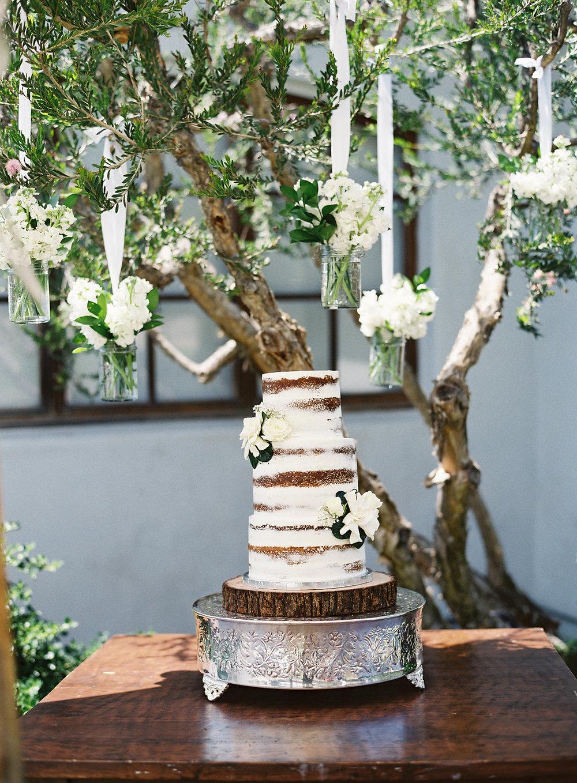 www.santabarbarawedding.com | Rani Hoover | Linda Chaja Photography | Bacara Resort | Wedding Cake
