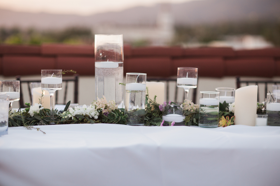 www.santabarbarawedding.com | Canary Hotel | Harmony Lynn Photography | Reception Details