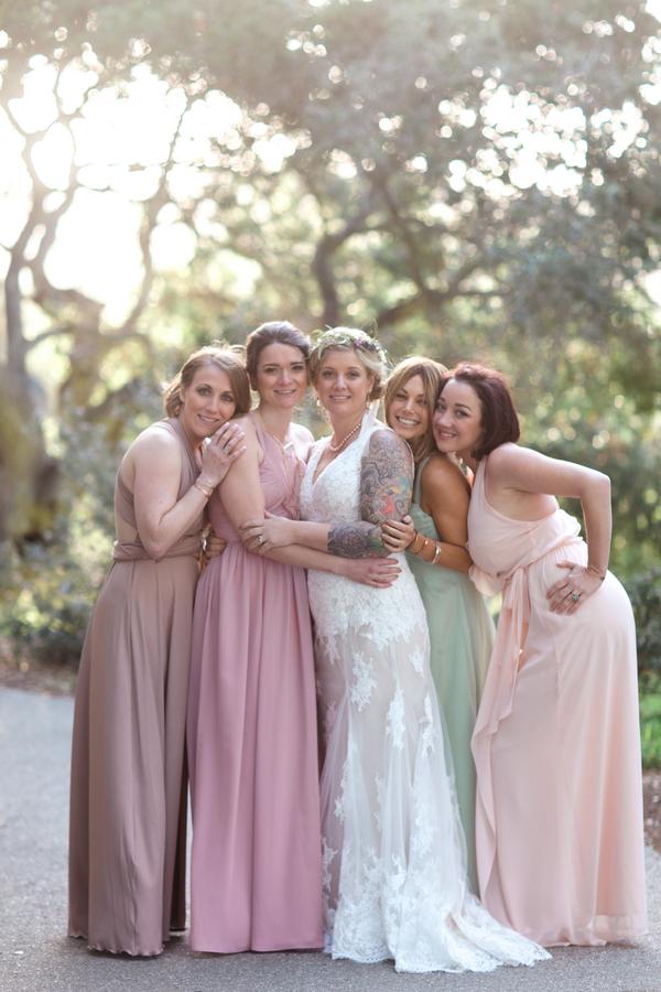 www.santabarbarawedding.com | Canary Hotel | Harmony Lynn Photography | Bridesmaids