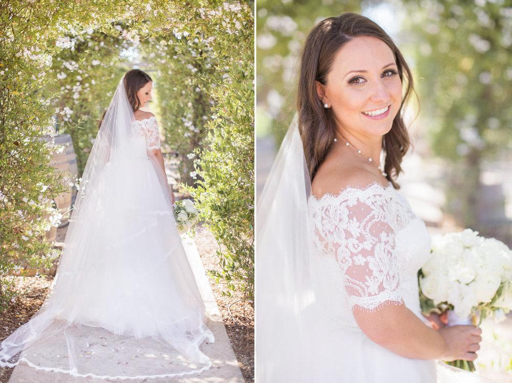 www.santabarbarawedding.com | Anna J Photography | Sogno del Fiore | Bride