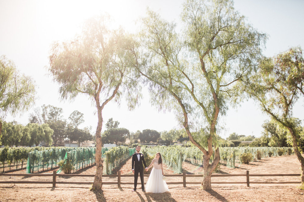 www.santabarbarawedding.com | Anna J Photography | Sogno del Fiore | Bride and Groom