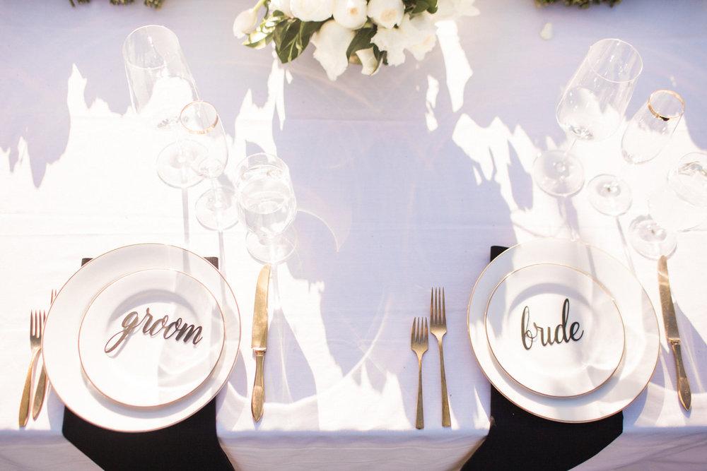 www.santabarbarawedding.com | Anna J Photography | Sogno del Fiore | Reception Details