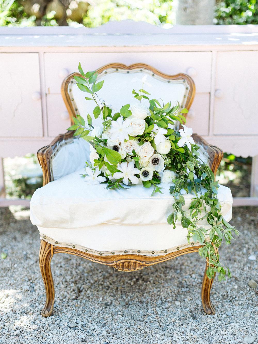 www.santabarbarawedding.com | Ella & Louie Floral Design | Bridal Bouquet | Kiel Rucker