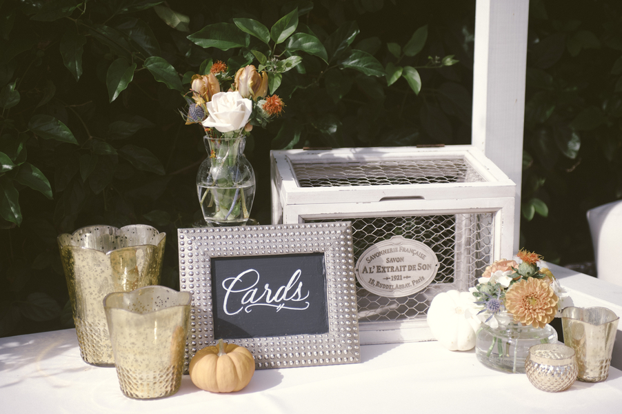 www.santabarbarawedding.com | By Cherry Photography | Rincon Beach Club | Gift Table