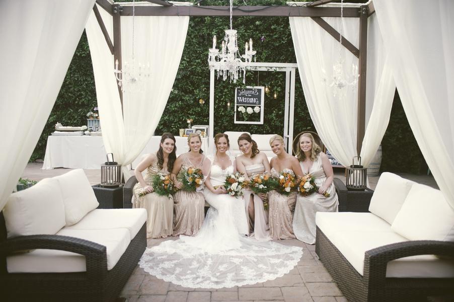 www.santabarbarawedding.com | By Cherry Photography | Rincon Beach Club | Bridemaids