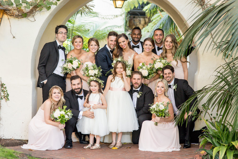 www.santabarbarawedding.com | Waller Weddings | KB Events | Bridal Party