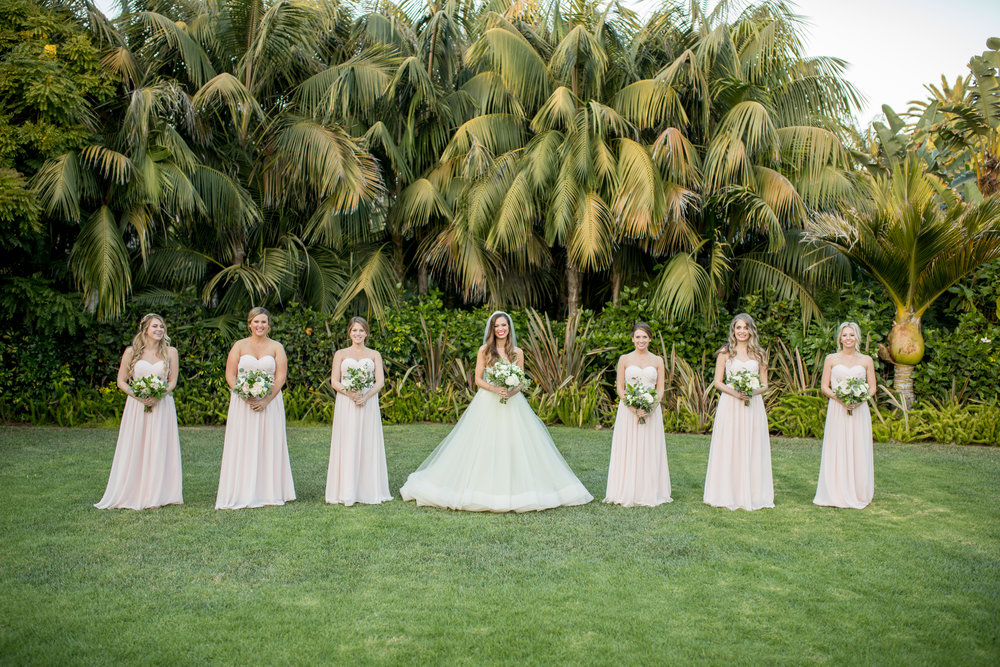 www.santabarbarawedding.com | Waller Weddings | KB Events | Bridesmaids