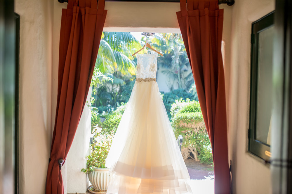 www.santabarbarawedding.com | Waller Weddings | KB Events | Wedding Dress
