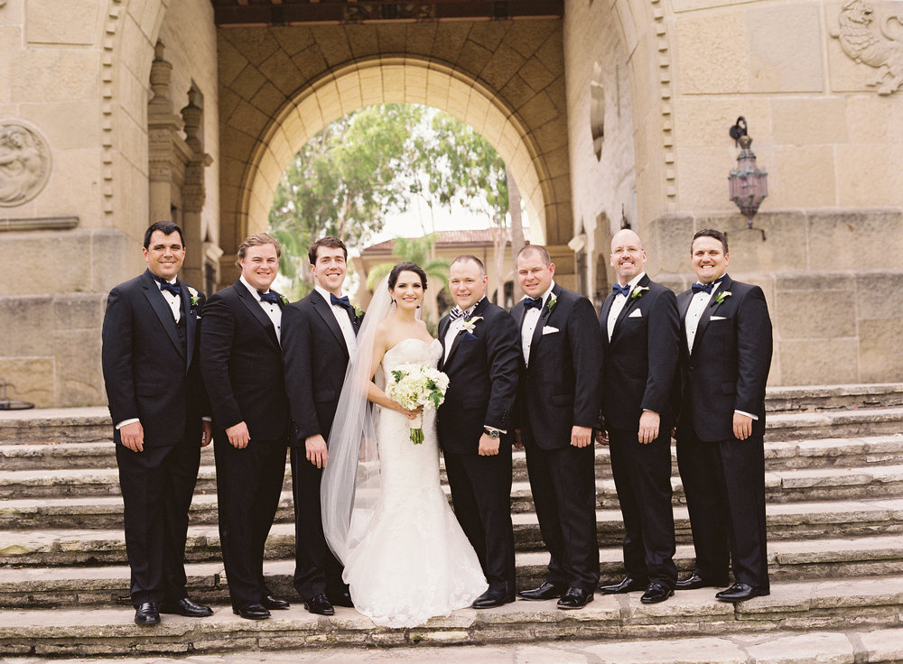 www.santabarbarawedding.com | Linda Chaja Photography | Santa Barbara Museum of Natural History Sea Center | Groomsmen