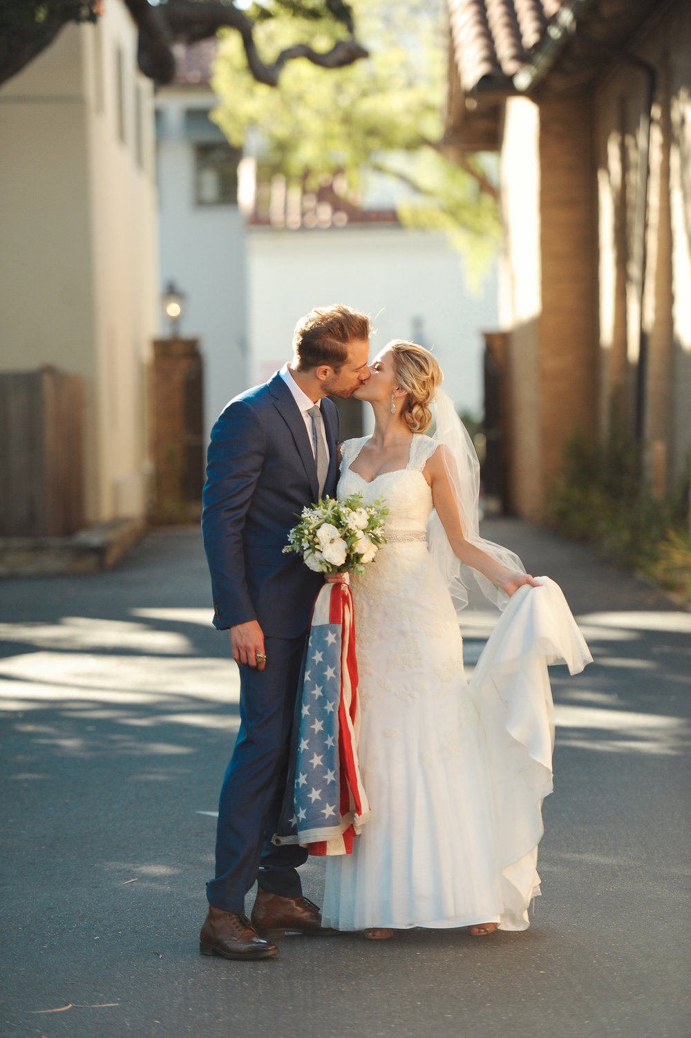 www.santabarbarawedding.com | JKoe Photography | Santa Barbara Historical Museum | Bride and Groom