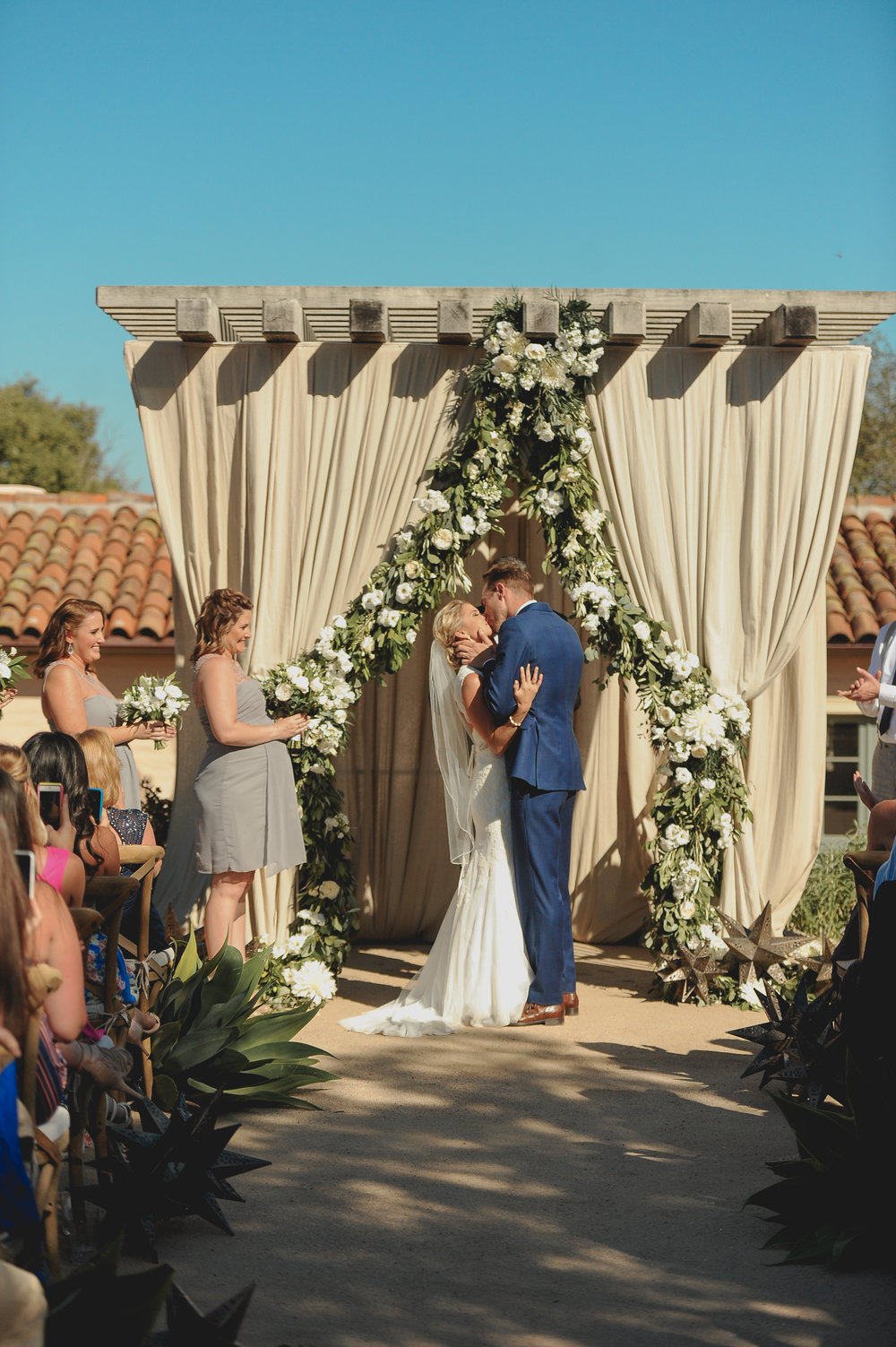 www.santabarbarawedding.com | JKoe Photography | Santa Barbara Historical Museum | Ceremony