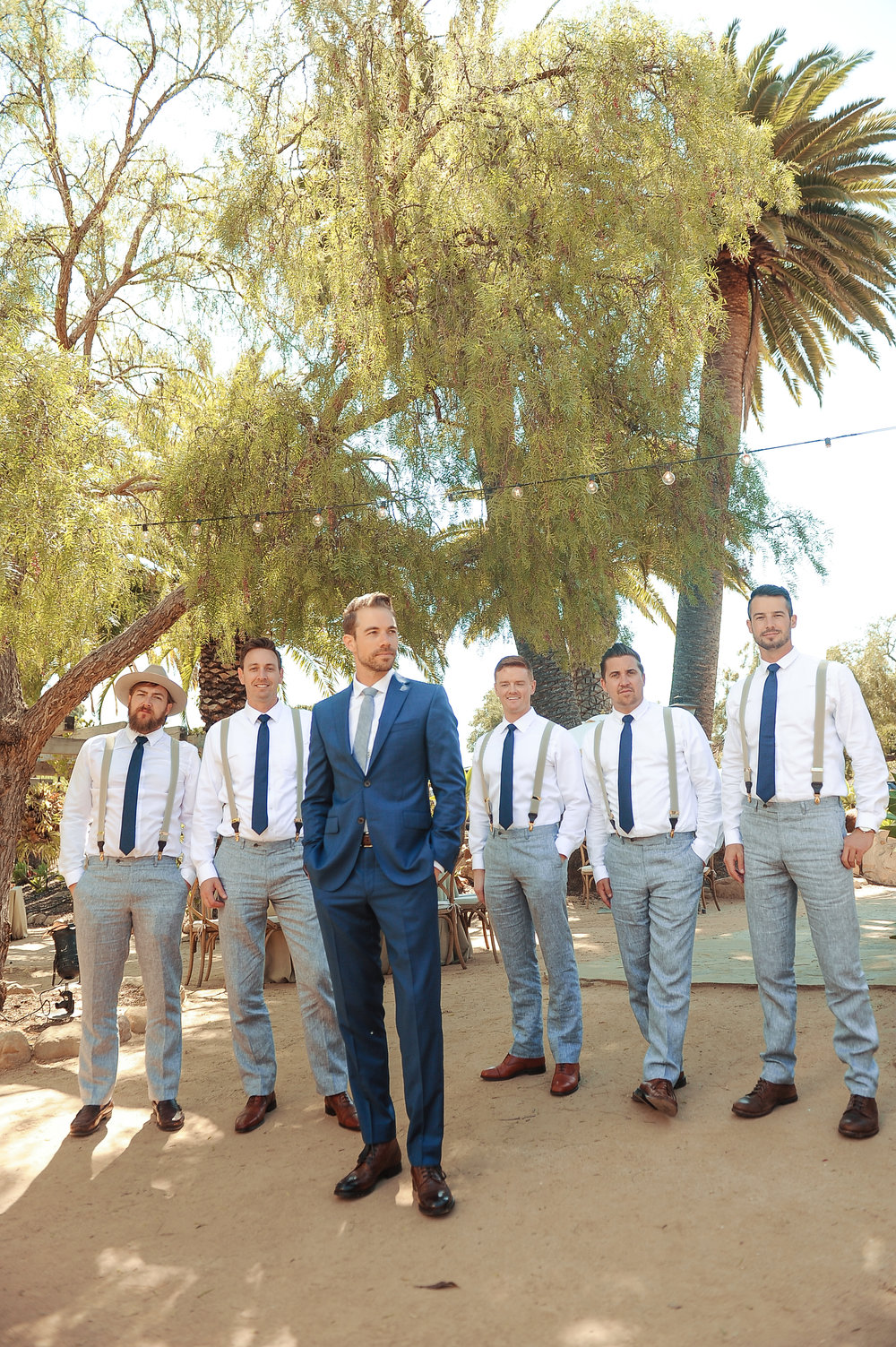 www.santabarbarawedding.com | JKoe Photography | Santa Barbara Historical Museum | Groomsmen