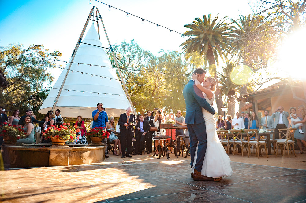 www.santabarbarawedding.com | JKoe Photography | Santa Barbara Historical Museum | First Dance