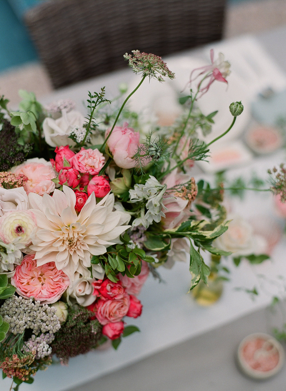 www.santabarbarawedding.com | Megan Sorel Photography | Flower Arrangement