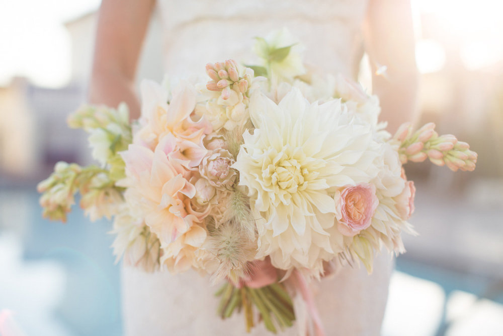 www.santabarbarawedding.com | Anna J Photography | Canary Hotel | Bridal Bouquet