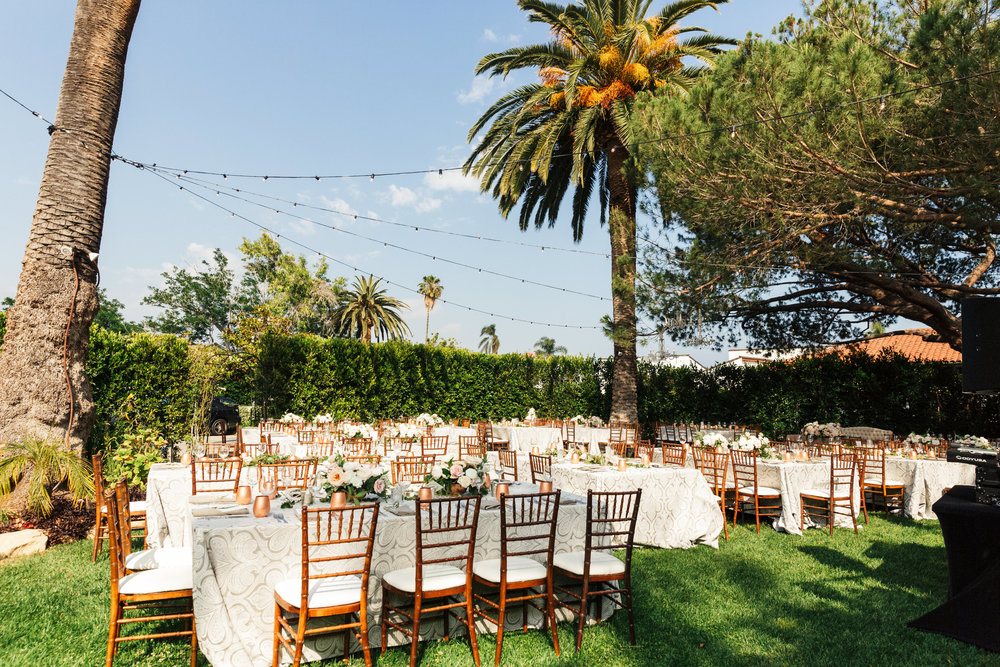 www.santabarbarawedding.com | Sanaz Photography | The Riviera Mansion | Reception
