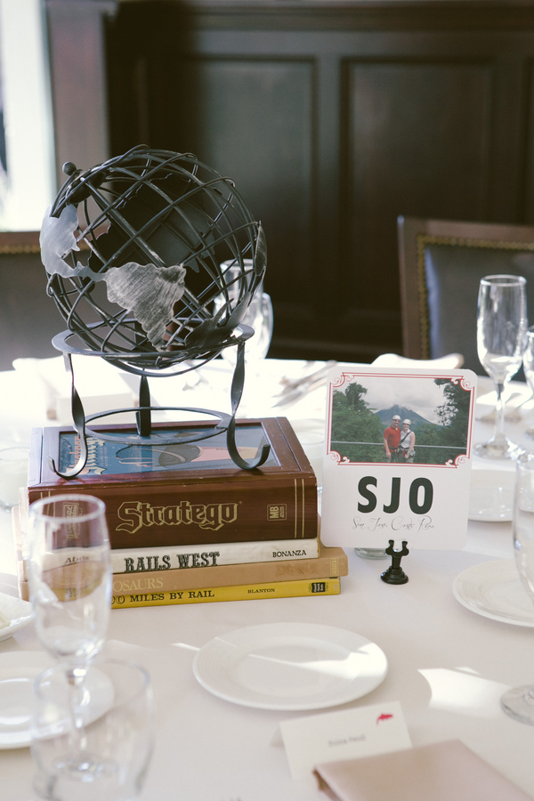 www.santabarbarawedding.com | By Cherry Photography | Santa Barbara Club | Reception Table