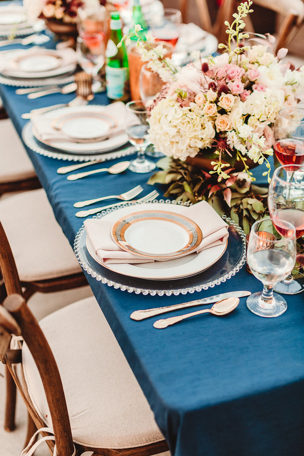 www.santabarbarawedding.com | Rewind Photography | Santa Barbara Maritime Museum | Table Setting