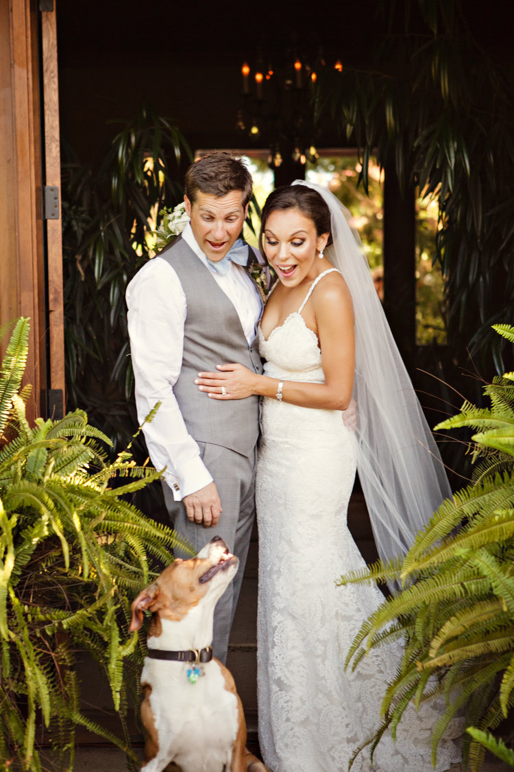 www.santabarbarawedding.com | Andrejka Photography | puppy love | Mutt Crush Monday | Wedding Dog | Bride and Groom
