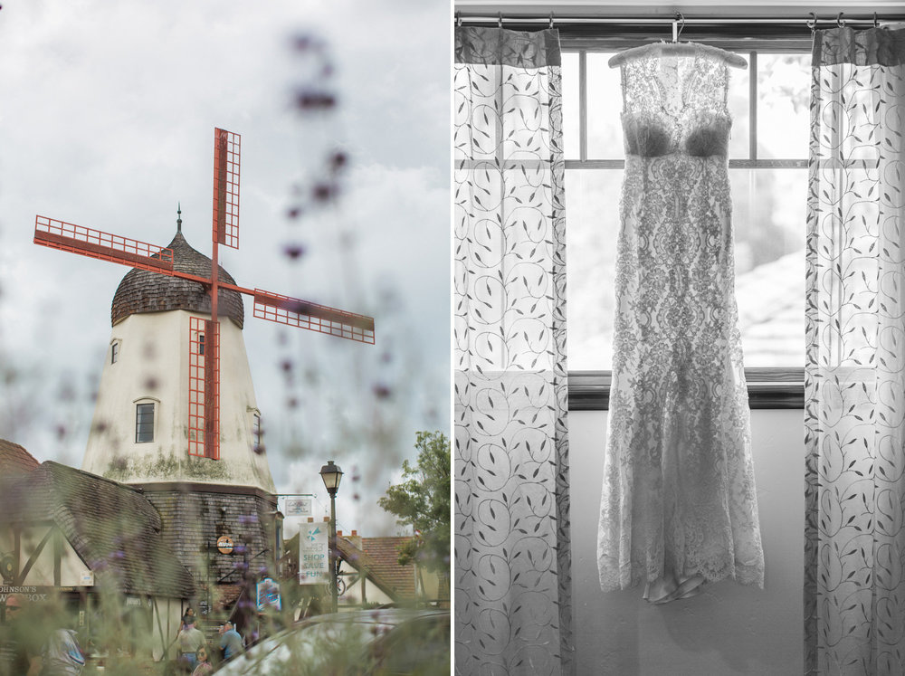 www.santabarbarawedding.com | Anna J Photography | Firestone Vineyard | Wedding Gown