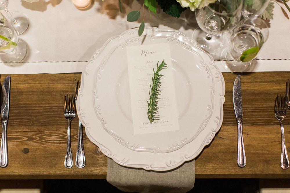 www.santabarbarawedding.com | Anna J Photography | Firestone Vineyard | Place Setting