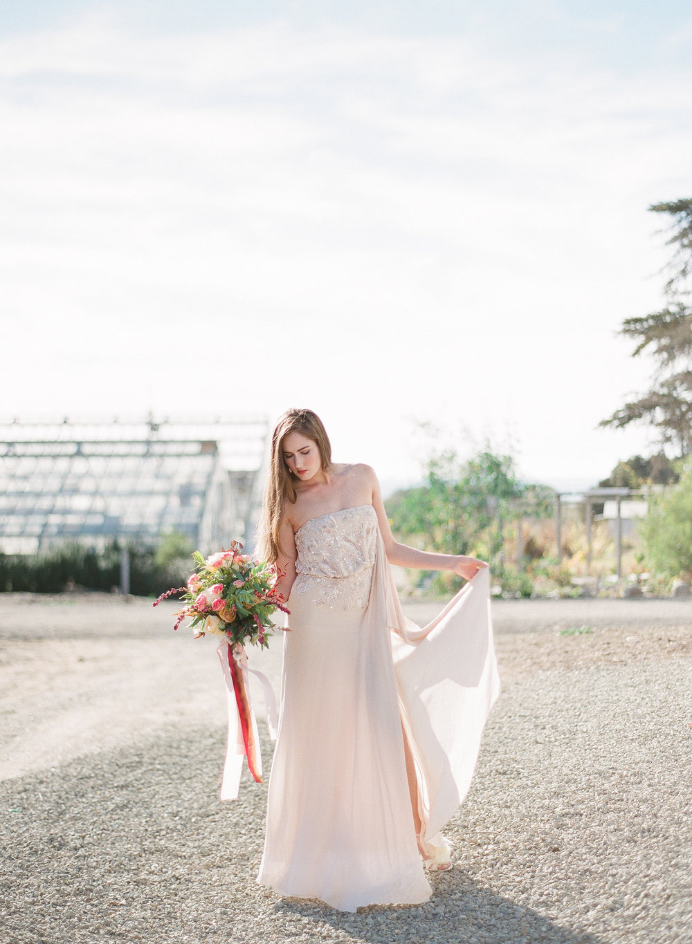 www.santabarbarawedding.com | Megan Sorel Photography | Dos Pueblos Orchid Farm | Bride