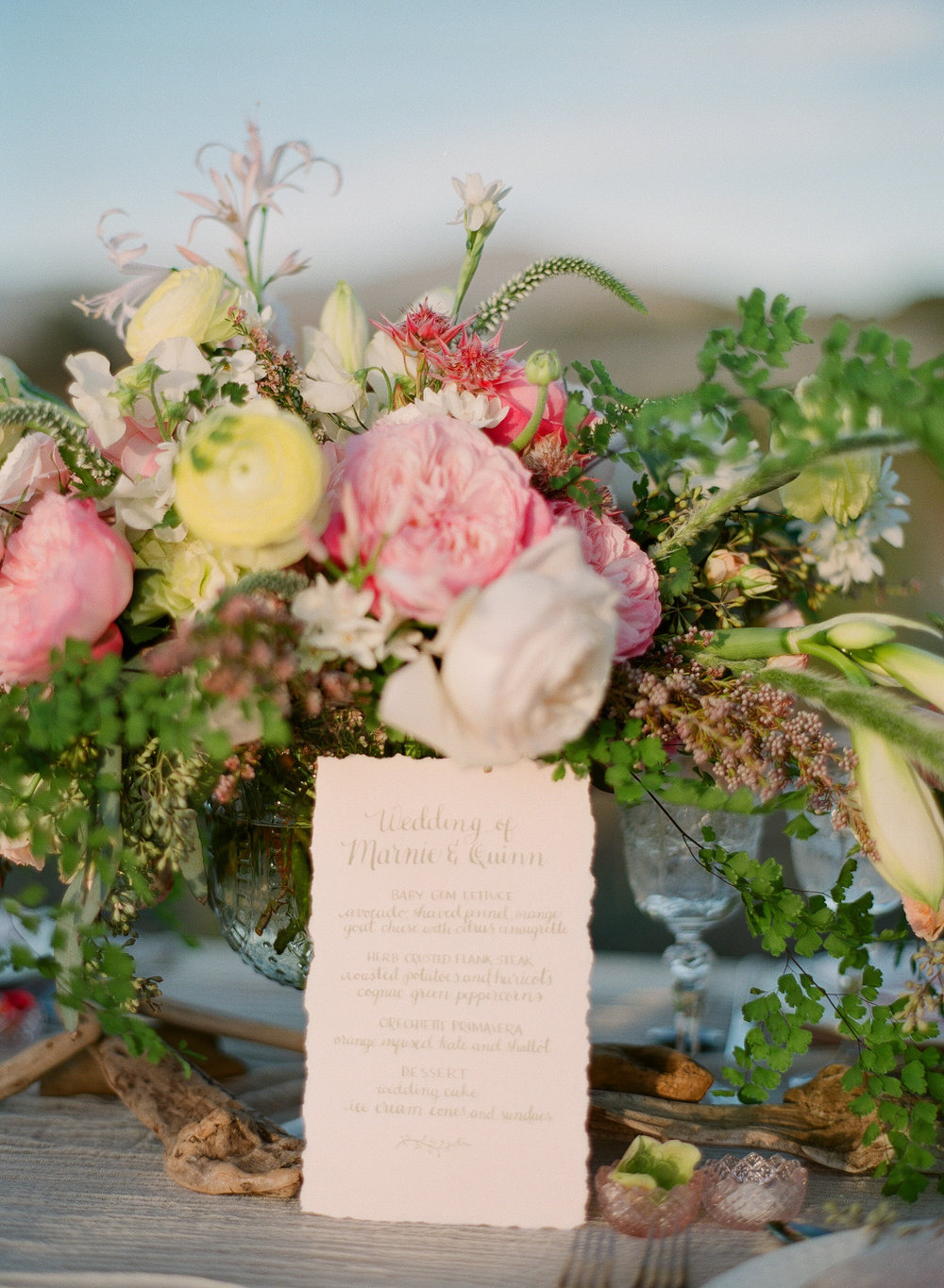 www.santabarbarawedding.com | Megan Sorel Photography | Floral Arrangement