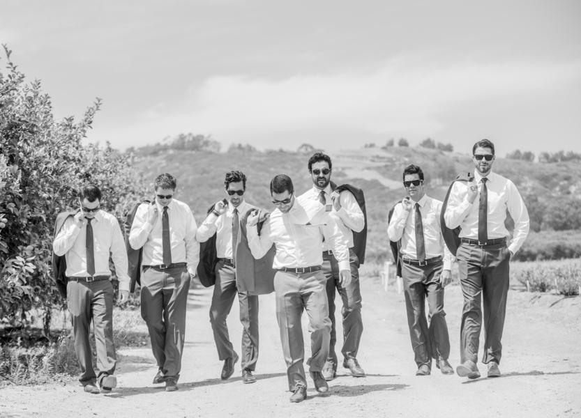 www.santabarbarawedding.com | Willa Kveta Photography | Gerry Ranch | Groomsmen