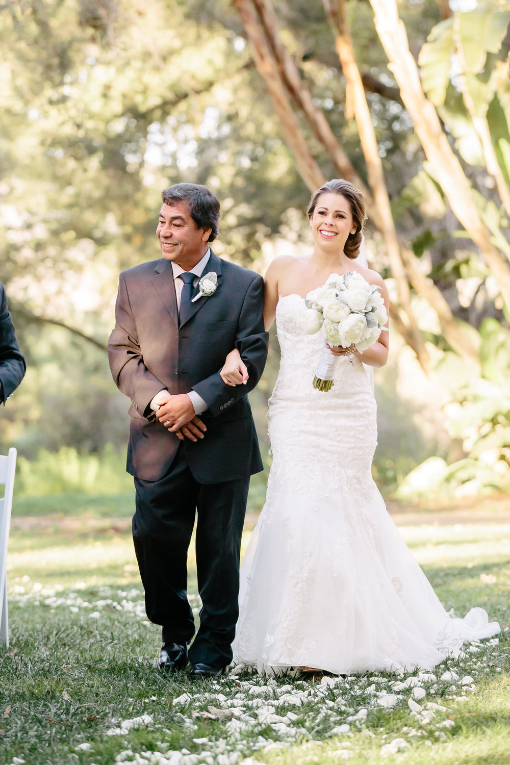 www.santabarbarawedding.com | Rewind Photography | Rancho La Patera | Serra Hall | Ceremony