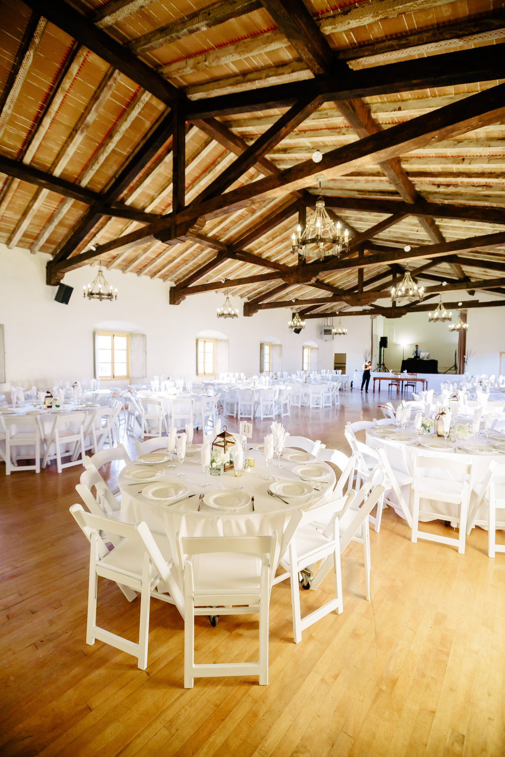 www.santabarbarawedding.com | Rewind Photography | Rancho La Patera | Serra Hall | Reception