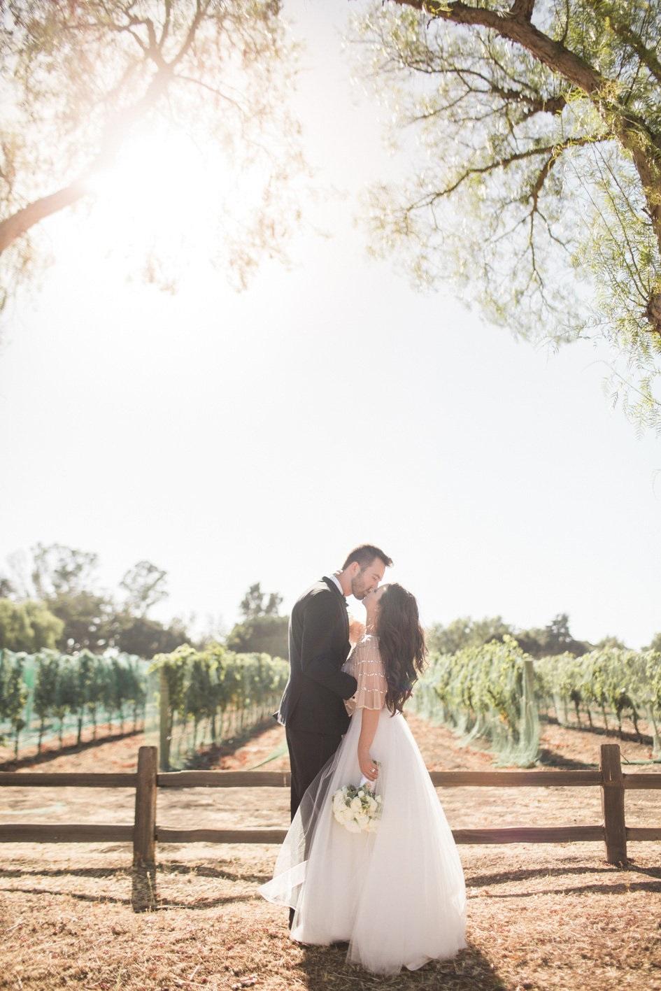 www.santabarbarawedding.com | Anna J Photography | Sogno del Fiore | Bride and Groom