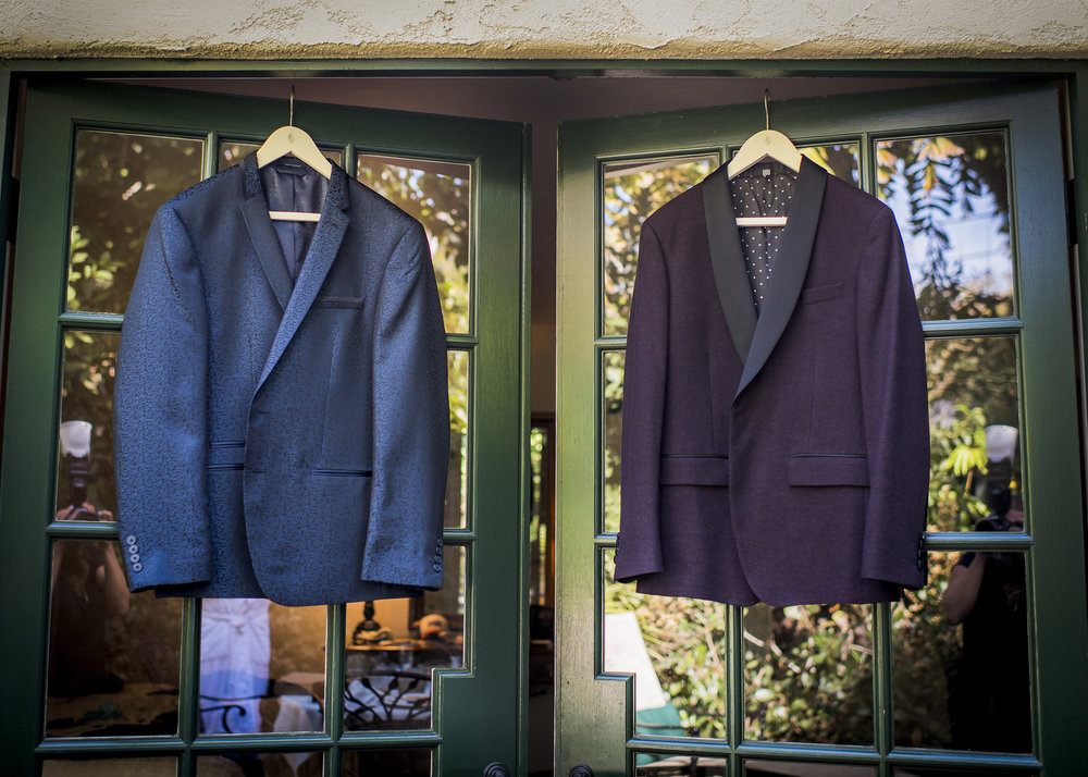 www.santabarbarawedding.com | Willa Kveta Photography | The Prop House Lounge and Warehouse | Grooms' Blazers