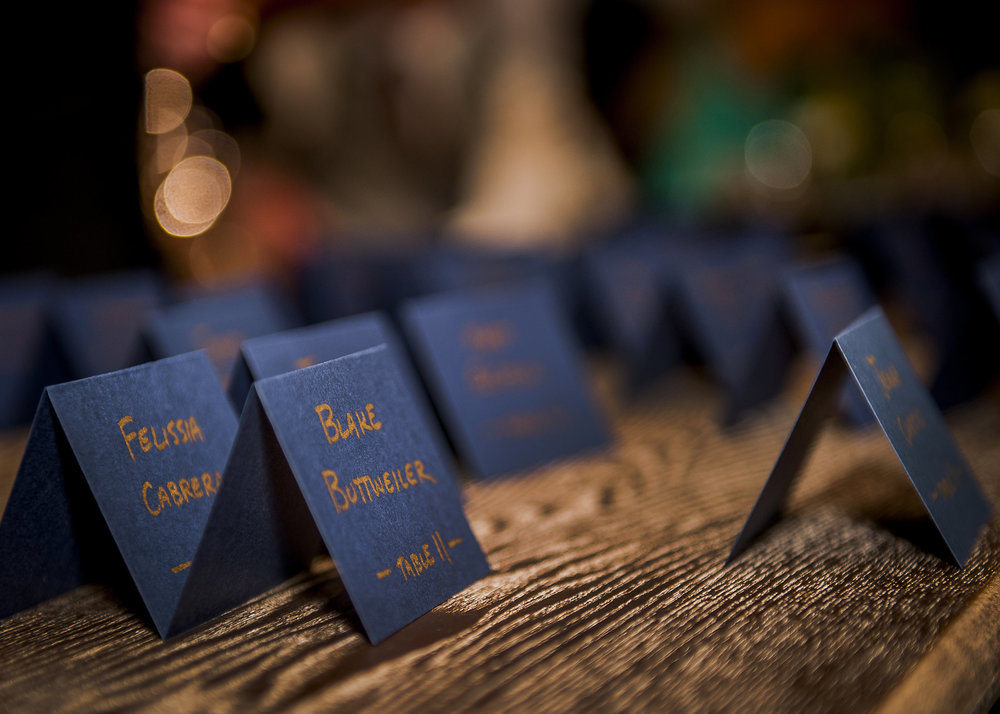 www.santabarbarawedding.com | Willa Kveta Photography | The Prop House Lounge and Warehouse | Escort Cards