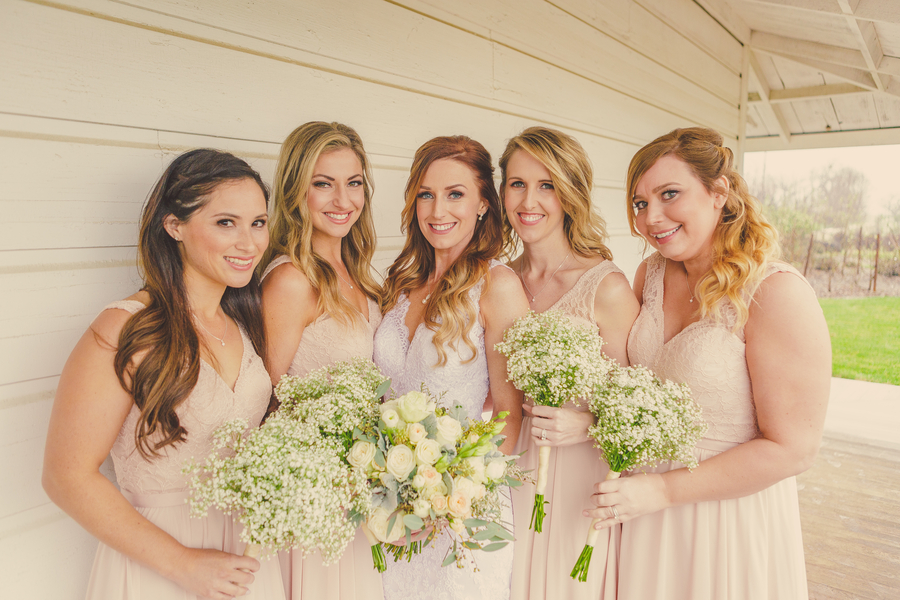 www.santabarbarawedding.com | Kramer Events | Santa Margarita Ranch | Bridesmaids