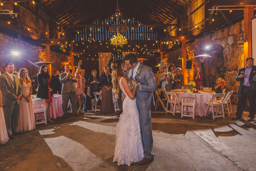 www.santabarbarawedding.com | Kramer Events | Santa Margarita Ranch | Bride and Groom | First Dance