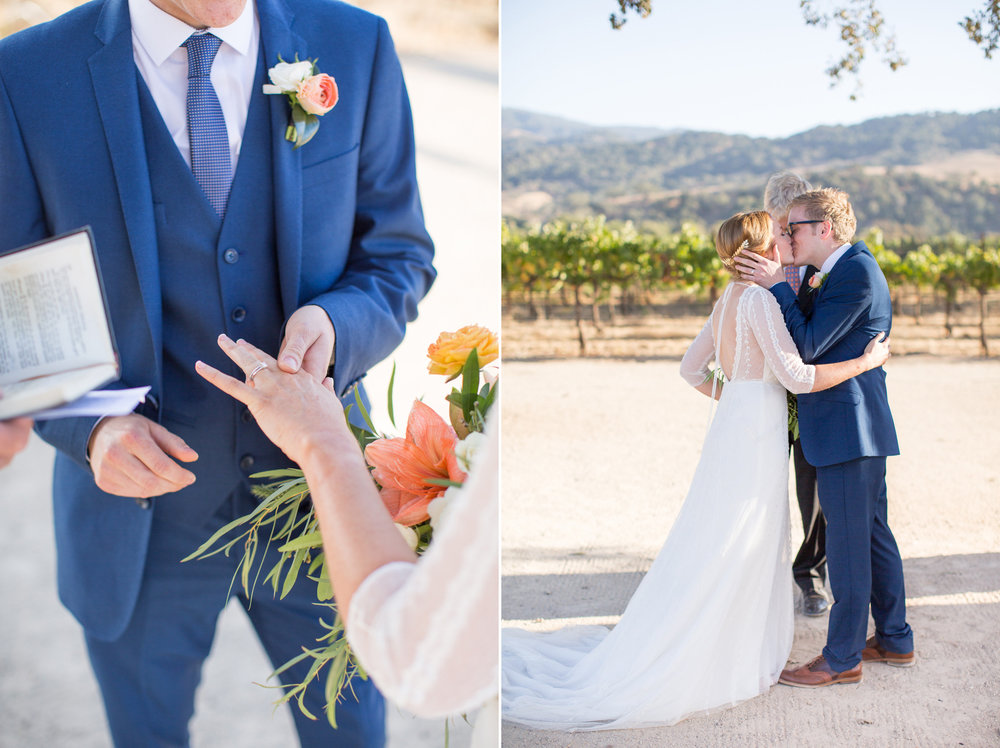 www.santabarbarawedding.com | Anna J Photography | Villa Sunstone | Ella & Louie | Ceremony