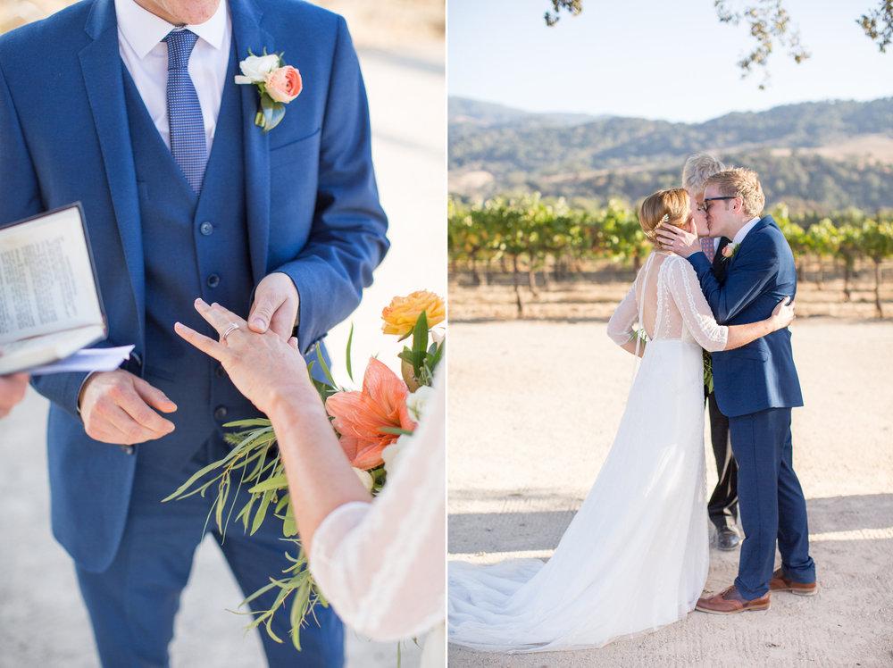 www.santabarbarawedding.com | Anna J Photography | Villa Sunstone | Ella & Louie | Ceremony