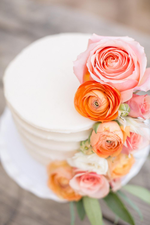 www.santabarbarawedding.com | Anna J Photography | Villa Sunstone | Ella & Louie | Wedding Cake