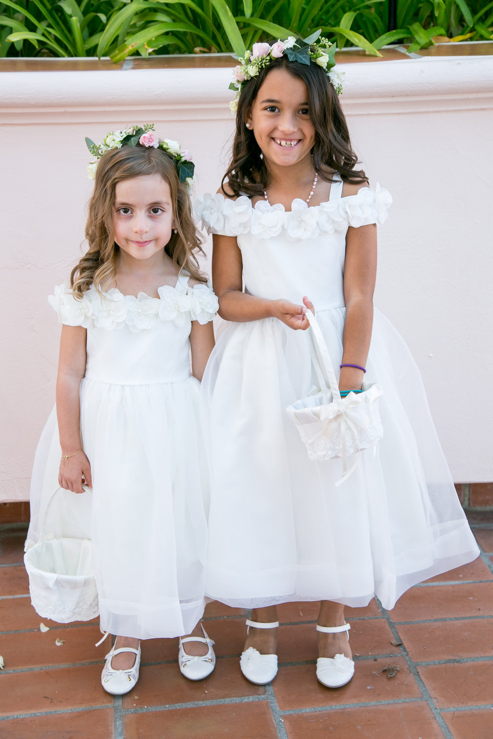 www.santabarbarawedding.com | Chris Schmitt Photography | Felici Events | Fess Parker Double Tree | Flower Girls