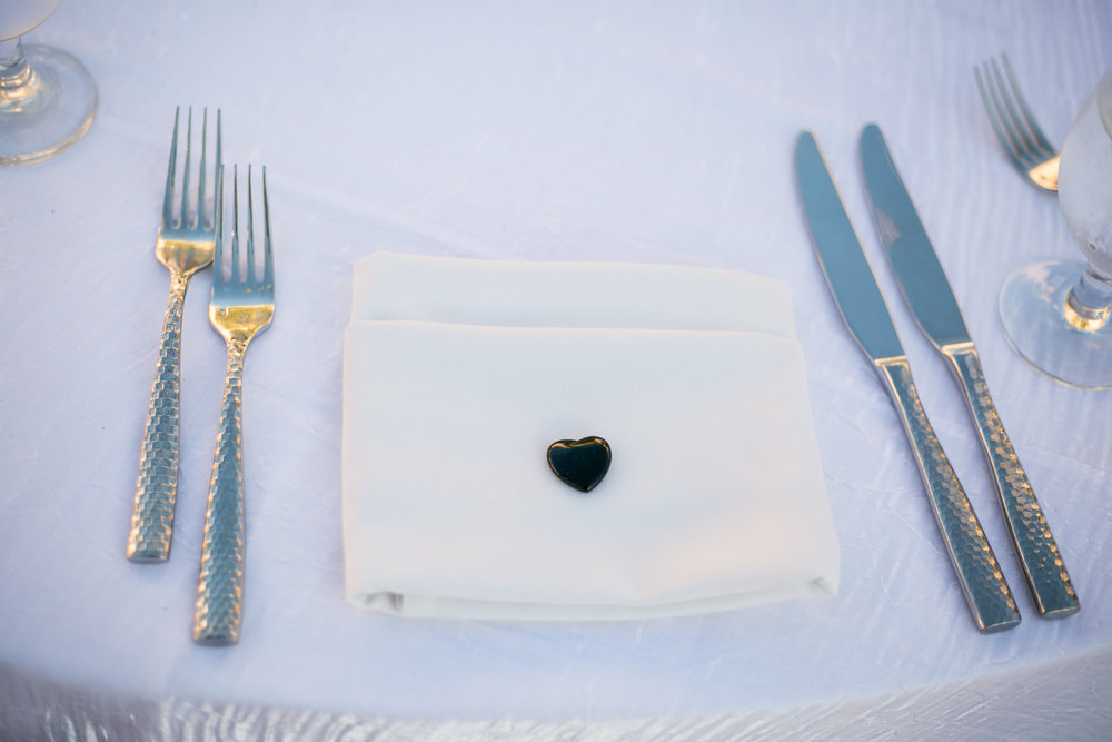 www.santabarbarawedding.com | Chris Schmitt Photography | Felici Events | Fess Parker Double Tree | Reception Table Setting
