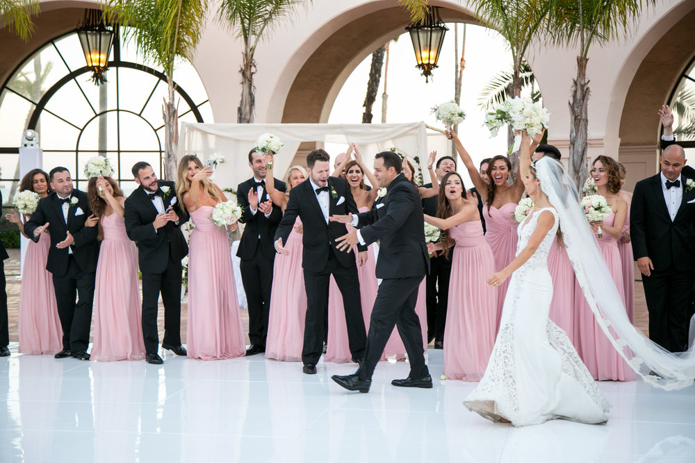 www.santabarbarawedding.com | Chris Schmitt Photography | Felici Events | Fess Parker Double Tree | Bridal Party