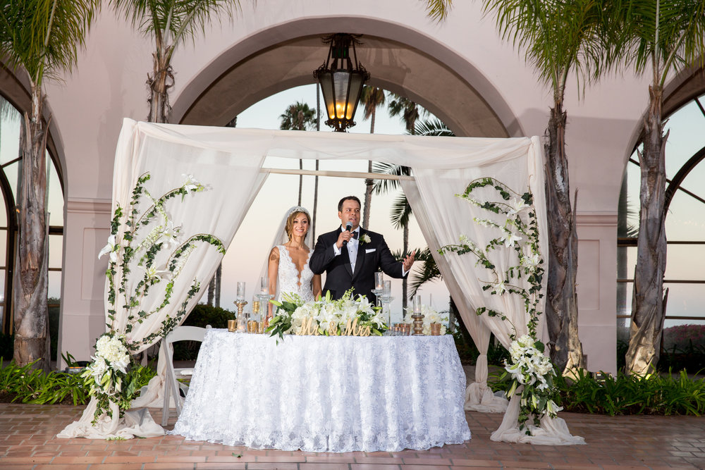www.santabarbarawedding.com | Chris Schmitt Photography | Felici Events | Fess Parker Double Tree | Bride and Groom