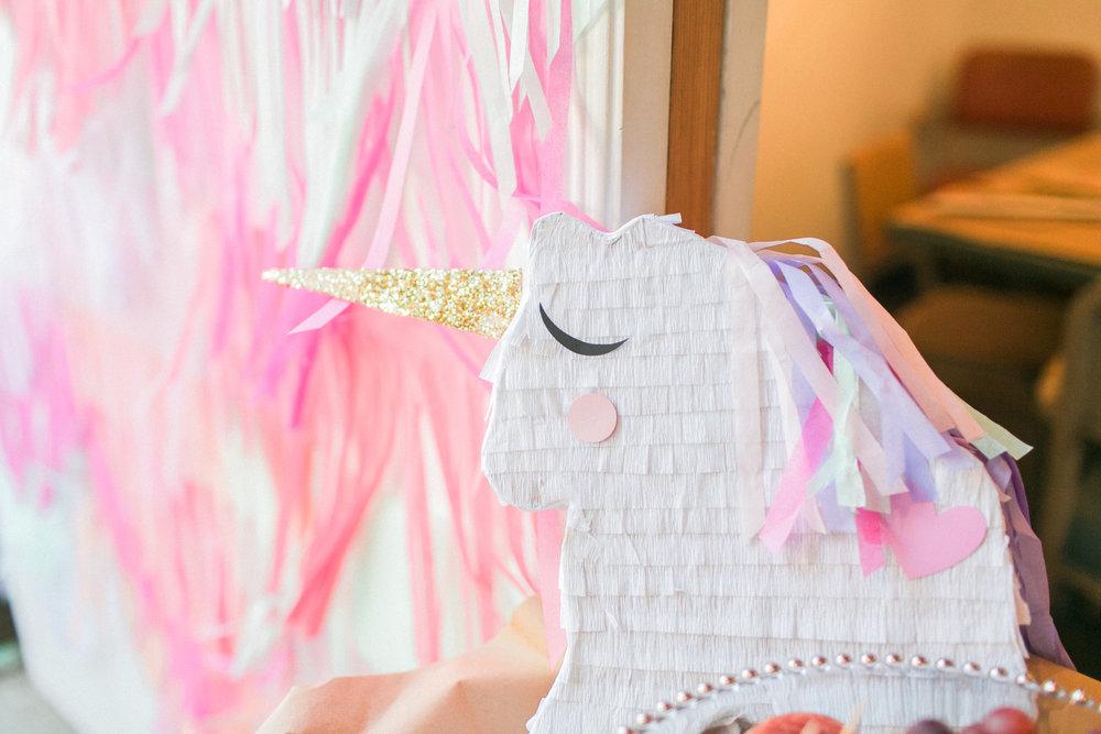 www.santabarbarawedding.com | Municipal Winery | Wedding Activity | Pinata Workshop | Bridal Party Ideas | Pink Elephant and Co | Unicorn Pinata | Kelsey Crews Photography