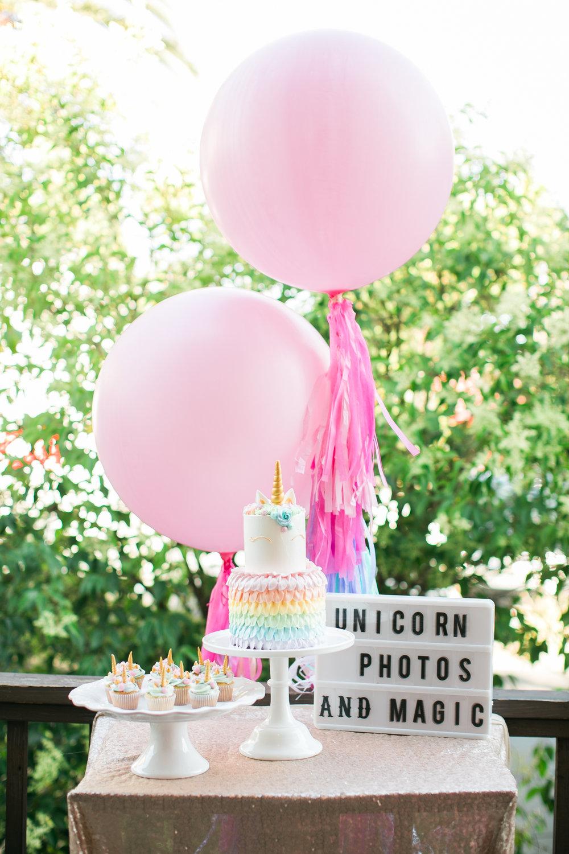 www.santabarbarawedding.com | Municipal Winery| Pinata Workshop | Bridal Party Ideas | Pink Elephant and Co | Unicorn Cupcakes | Unicorn Cake | Unicorn Party Inspiration | Kelsey Crews Photography