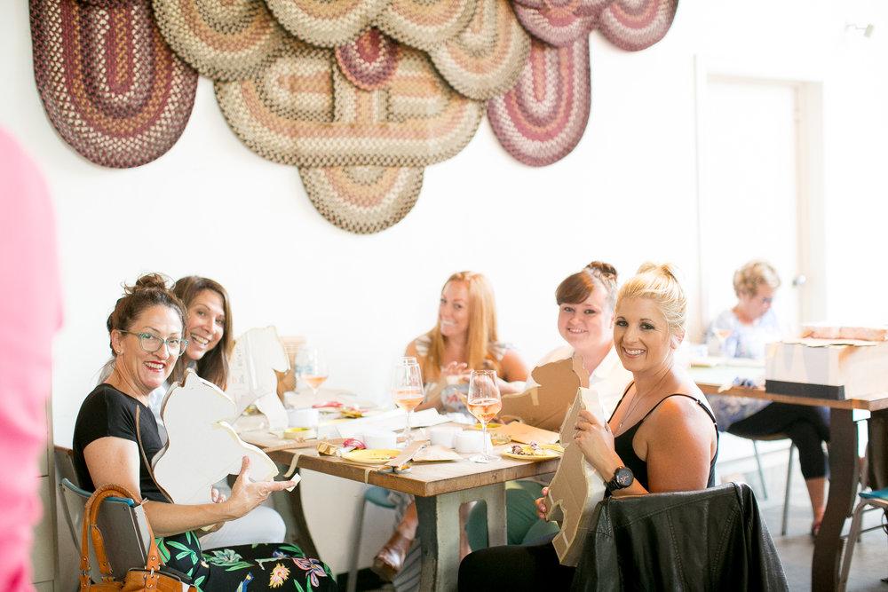 www.santabarbarawedding.com | Municipal Winery | Wedding Activity | Pinata Workshop | WeddingParty Ideas | Pink Elephant and Co | Felici Events | Unicorn Party Inspiration | Kelsey Crews Photography