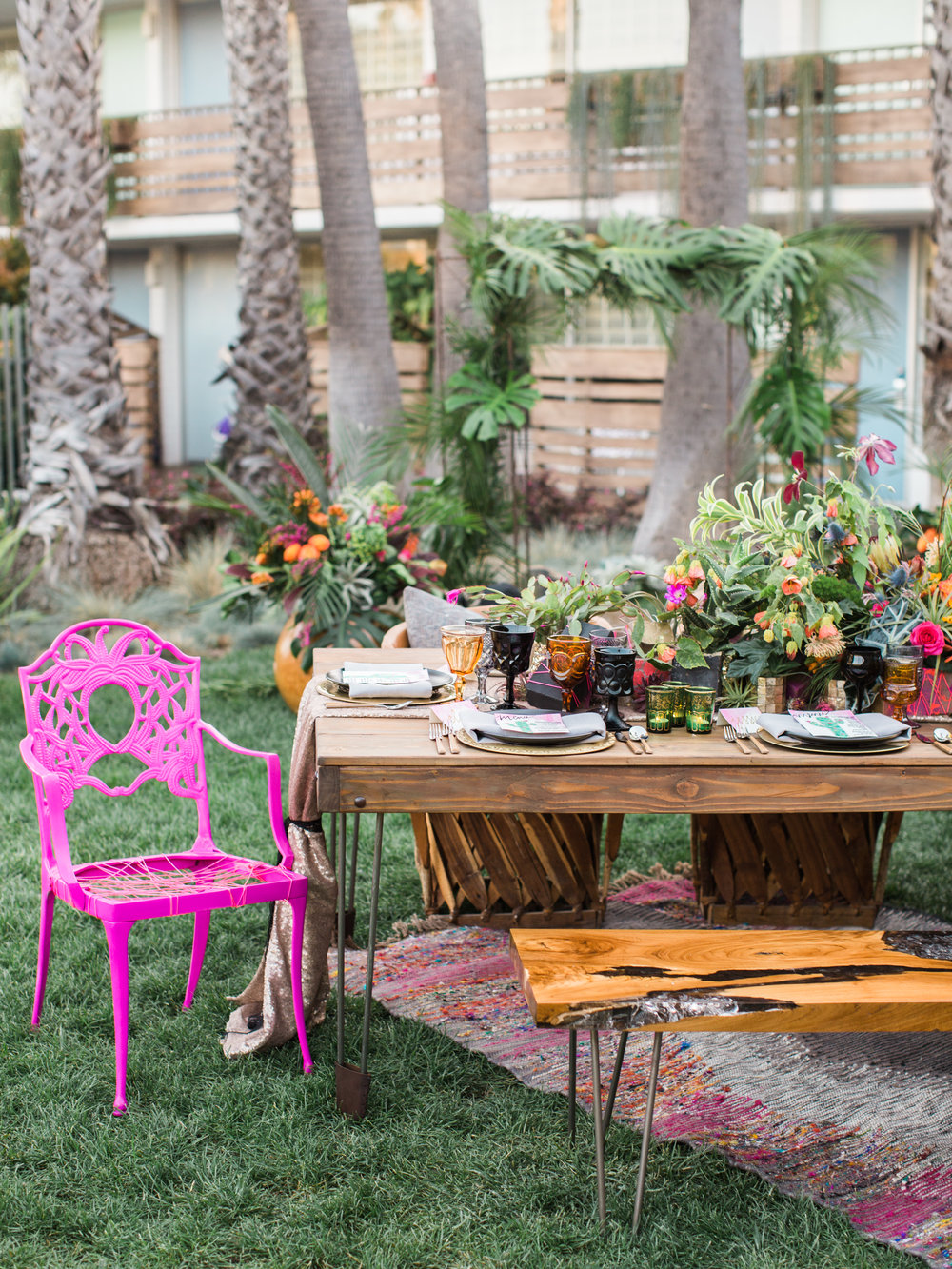 contemporary boho inspiration u2014 santa barbara wedding style
