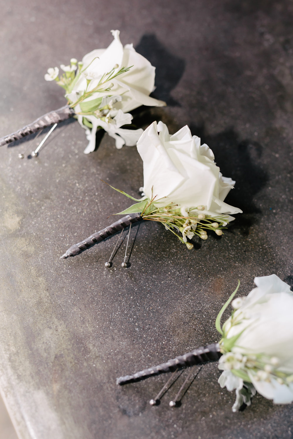 www.santabarbarawedding.com | Rewind Photography | Provence in Ojai | Passions Flowers | boutonnieres