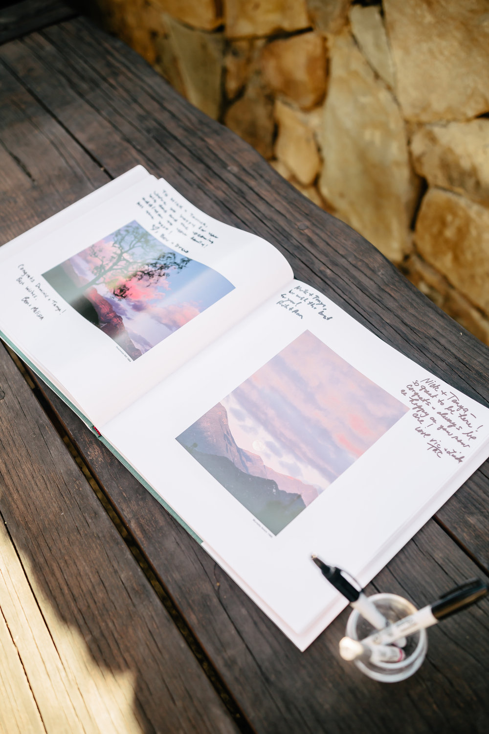 www.santabarbarawedding.com | Rewind Photography | Provence in Ojai | Guest Book | Reception